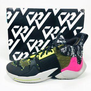 Nike Jordan Why Not Zer0.2 Shoes Men's SZ 8 NEW